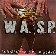Click here for more info about 'WASP - Animal (F**k Like A Beast) White Vinyl'