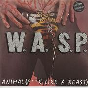 Click here for more info about 'WASP - Animal [F**k Like A Beast]'