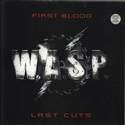 Click here for more info about 'WASP - First Blood Last Cuts'