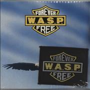 Click here for more info about 'WASP - Forever Free - Sealed + Patch'