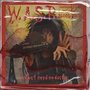 Click here for more info about 'WASP - I Don't Need No Doctor (Live) - Blood Pack'
