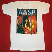 Click here for more info about 'WASP - Inside The Electric Circus - White - Large'