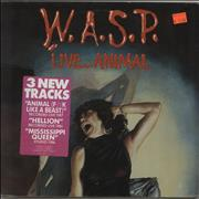Click here for more info about 'WASP - Live...Animal - Sealed'