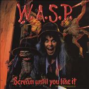 Click here for more info about 'WASP - Scream Until You Like It'