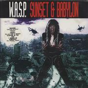 Click here for more info about 'WASP - Sunset & Babylon - Poster Sleeve'