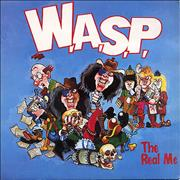 Click here for more info about 'WASP - The Real Me - Blue Vinyl'