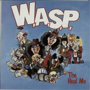 Click here for more info about 'WASP - The Real Me - Poster Sleeve'