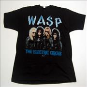 Click here for more info about 'WASP - Welcome To The Electric Circus - Black- XL'