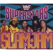 WWF Superstars Slam Jam UK CD single