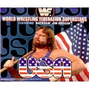 WWF Superstars U.S.A. UK CD single