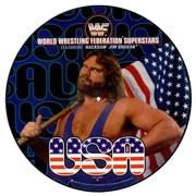 """WWF Superstars U.S.A. UK 12"""" picture disc"""