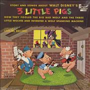 Click here for more info about 'Walt Disney - 3 Little Pigs - Sealed'