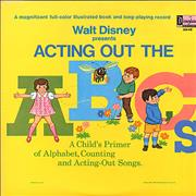 Click here for more info about 'Walt Disney - Acting Out The ABCs'