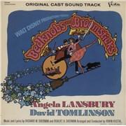 Walt Disney Bedknobs And Broomsticks USA vinyl LP