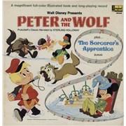 Walt Disney Peter And The Wolf USA vinyl LP