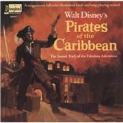 Walt Disney Pirates Of The Caribbean USA vinyl LP