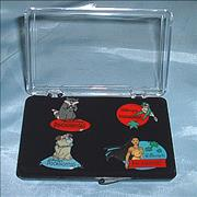 Click here for more info about 'Walt Disney - Pocahontas Badges - Set of 4'