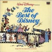 Walt Disney The Best Of Disney UK vinyl LP