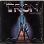 Walt Disney The Story Of Tron USA vinyl LP