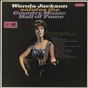 Click here for more info about 'Wanda Jackson - Country Music Hall Of Fame - peach label'