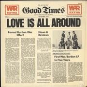 Click here for more info about 'War - Love Is All Around'