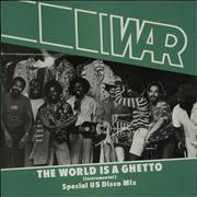 Click here for more info about 'War - The World Is A Ghetto'
