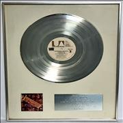 Click here for more info about 'War - War Live - RIAA Double Platinum Award'