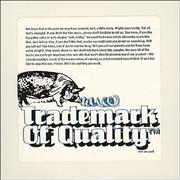 Click here for more info about 'Warner Brothers - Trademark Of Quality'