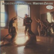 Click here for more info about 'Warren Zevon - Bad Luck Streak In Dancing School - White Label'