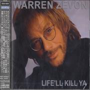 Click here for more info about 'Warren Zevon - Life'll Kill Ya'
