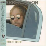 Click here for more info about 'Warren Zevon - My Ride's Here'