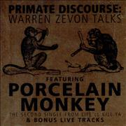 Click here for more info about 'Warren Zevon - Primate Discourse + Porcelain Monkey - Sealed'