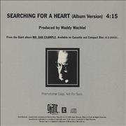 Click here for more info about 'Warren Zevon - Searching For A Heart'
