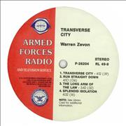 Click here for more info about 'Warren Zevon - Transverse City'