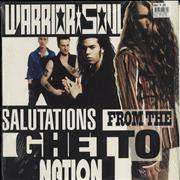 Click here for more info about 'Warrior Soul - Salutations From The Ghetto Nation - shrink'