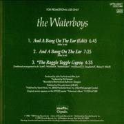 Click here for more info about 'Waterboys - And A Bang On The Ear'