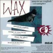 Click here for more info about 'Wax - American English - 4 Trk Sampler'