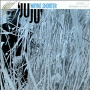 Click here for more info about 'Wayne Shorter - Juju - gold promo stamp'
