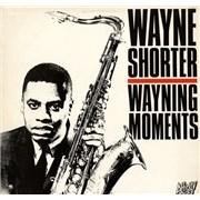 Wayne Shorter Wayning Moments UK vinyl LP