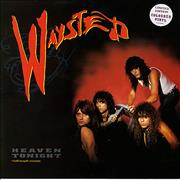 Click here for more info about 'Waysted - Heaven Tonight - red vinyl'