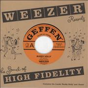 Click here for more info about 'Weezer - Buddy Holly - EX'