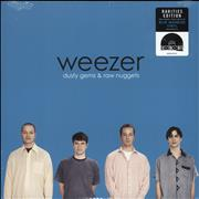 Weezer Dusty Gems & Raw Nuggets - RSD19 - Blue Vinyl - Sealed UK vinyl LP