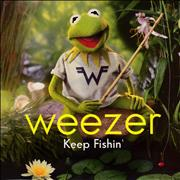 Click here for more info about 'Weezer - Keep Fishin' - Lime Green Vinyl'