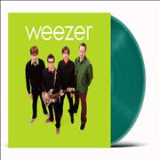 Click here for more info about 'Weezer - The Green Album - Green Vinyl - Sealed'