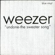 Click here for more info about 'Weezer - Undone - The Sweater Song - Blue Vinyl'