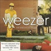 Click here for more info about 'Weezer - We Are All On Drugs - Pink Vinyl'