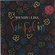 Click here for more info about 'Wendy & Lisa - Satisfaction + Poster'