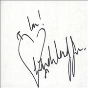 Click here for more info about 'Wendy James - Autograph'