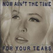 Wendy James Now Ain't The Time For Your Tears UK CD album