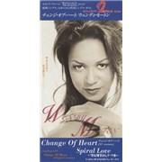 """Wendy Moten Change Of Heart Japan 3"""" CD single Promo"""